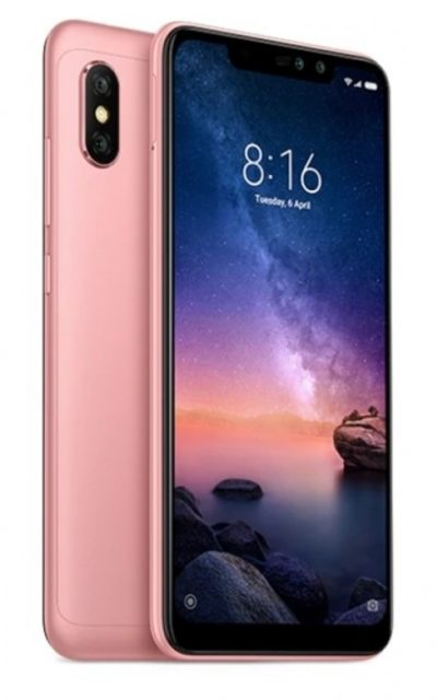 Xiaomi Redmi Note 6 Pro 4/64 Gb (розовое золото)
